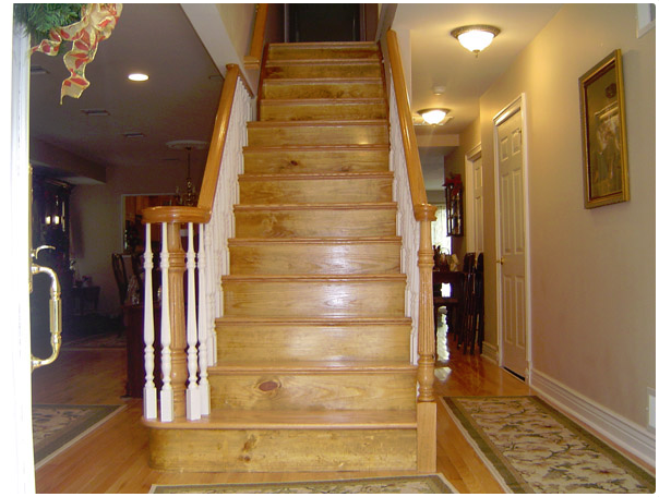 Custom Wooden Staircase